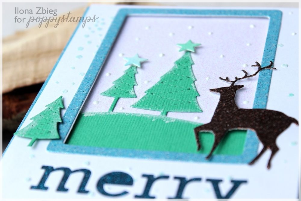 Hi everyone Ilona here today. I want to invite you to my last inspiration this year. I prepared glitter christmas card. I used white, blue, brown glitter papers and made winter scene. I cut out a rectangular window with light blue frame and glued christmas tree inside. Because my card is very luminous, my 9 years old daughter love it. She handed the card to her teacher. Wishing you peace, joy, and all the best this wonderful holiday has to offer. May this incredible time of giving and…
