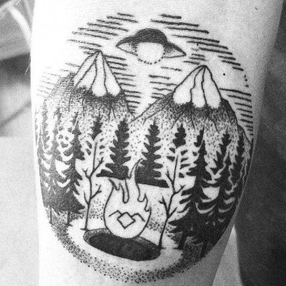 Gracias Walo por la oportunidad de dise  ar y hacer este Tattoo de Twin Peaks      #dotwork #tattoo #ink #linework #dotworktattoo #blacktattoo #inked #twinpeaks #twinpeakstattoo #davidlynch #25yearslater #firewalkwithme #blacklodge #blackwork