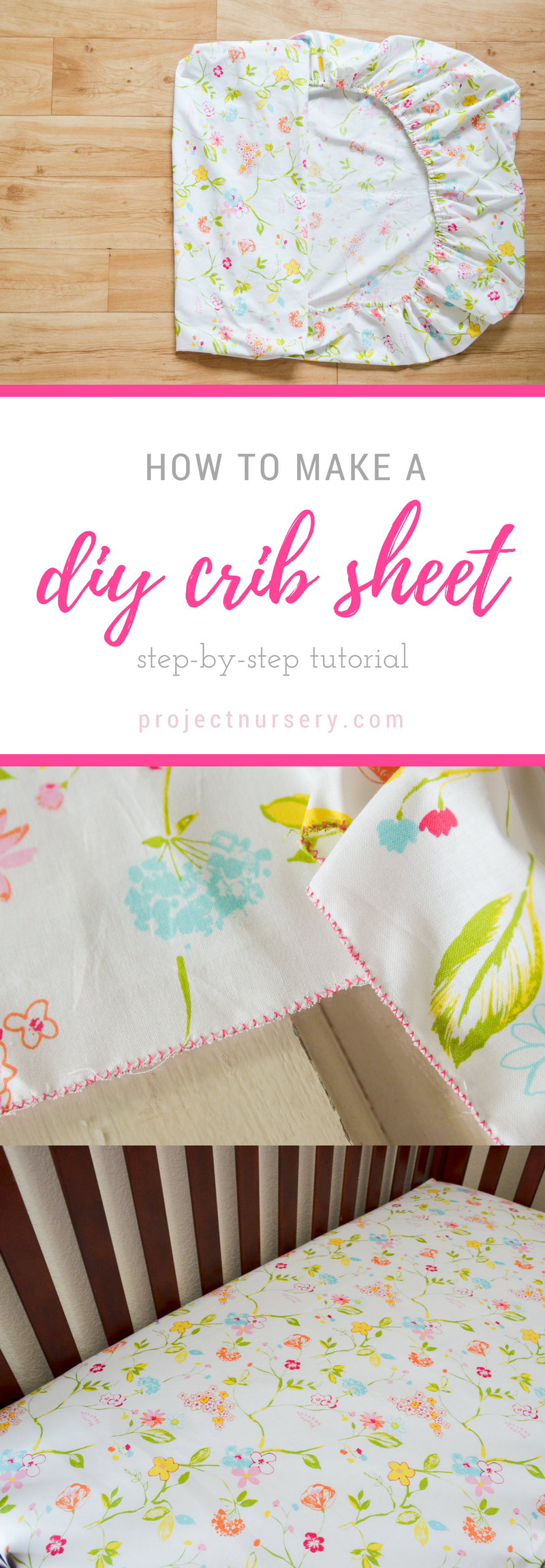 How to Make a DIY Crib Sheet