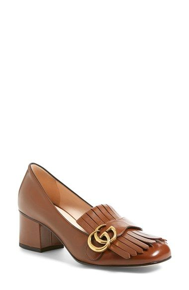 2ce13646d Gucci 'Marmont' Pump (Women) | The Shoe in 2019 | Gucci marmont pump ...