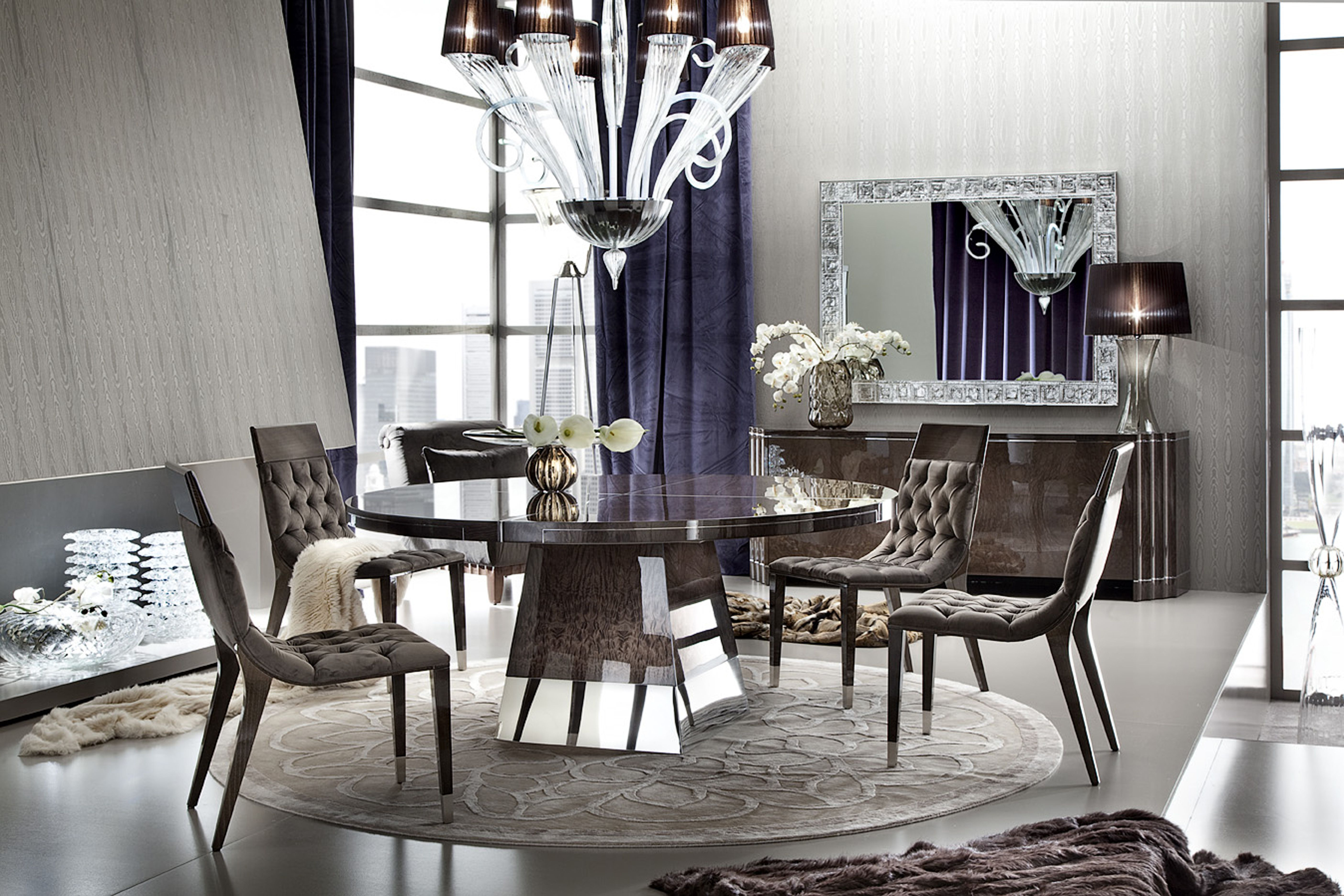 Warm. Inviting. Beautiful. The ABSOLUTE round dining table ...
