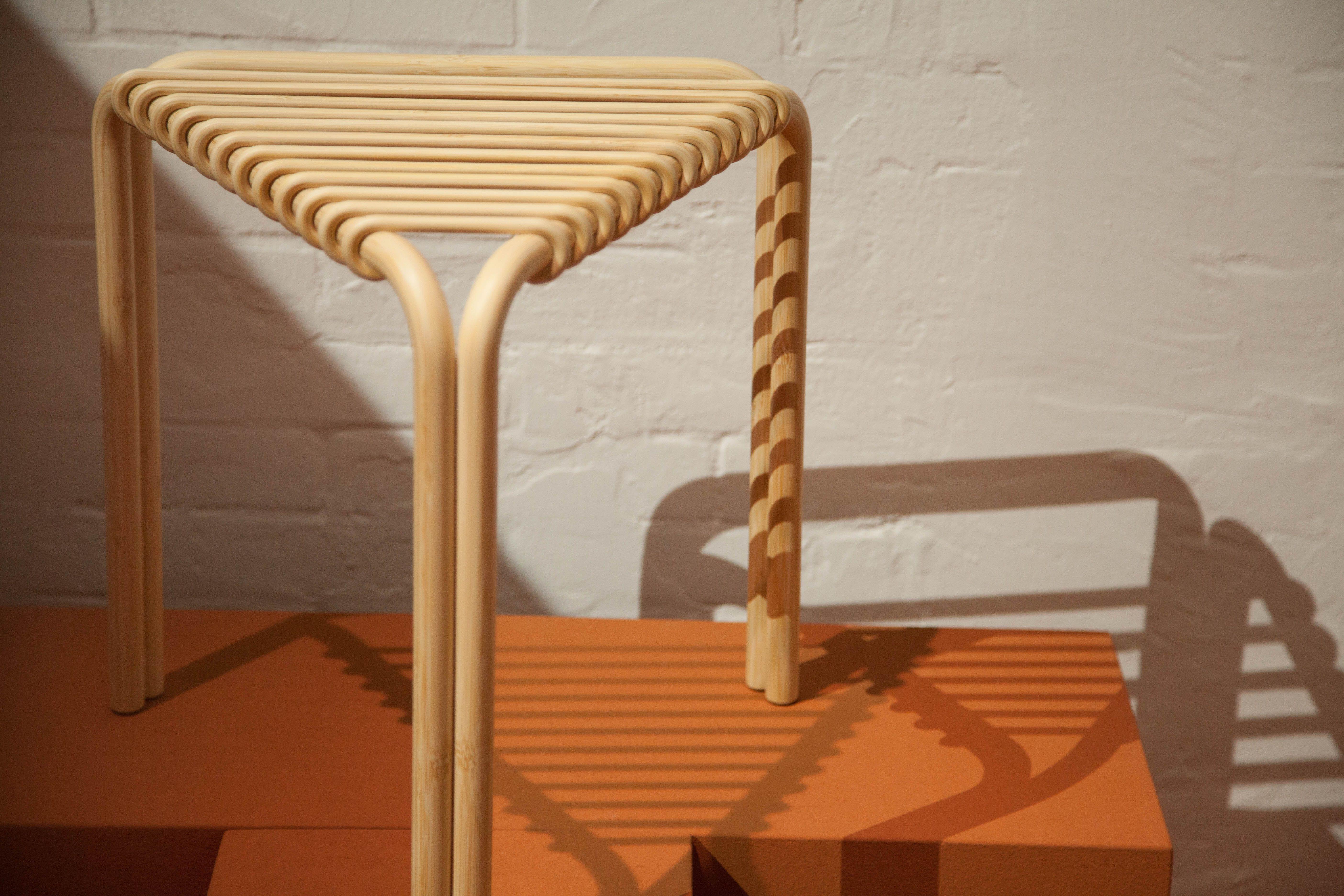 Karumi Triangular Stool by Alvaro Siza for Hermes