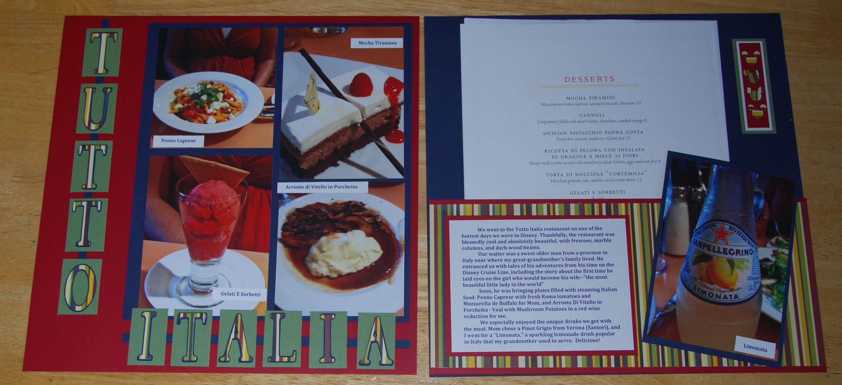 Tutto Italia - Scrapbook.com