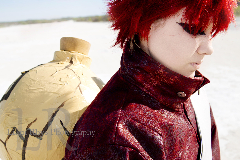 Sabaku no Gaara from Naruto Shippuden. -Not a Monster-