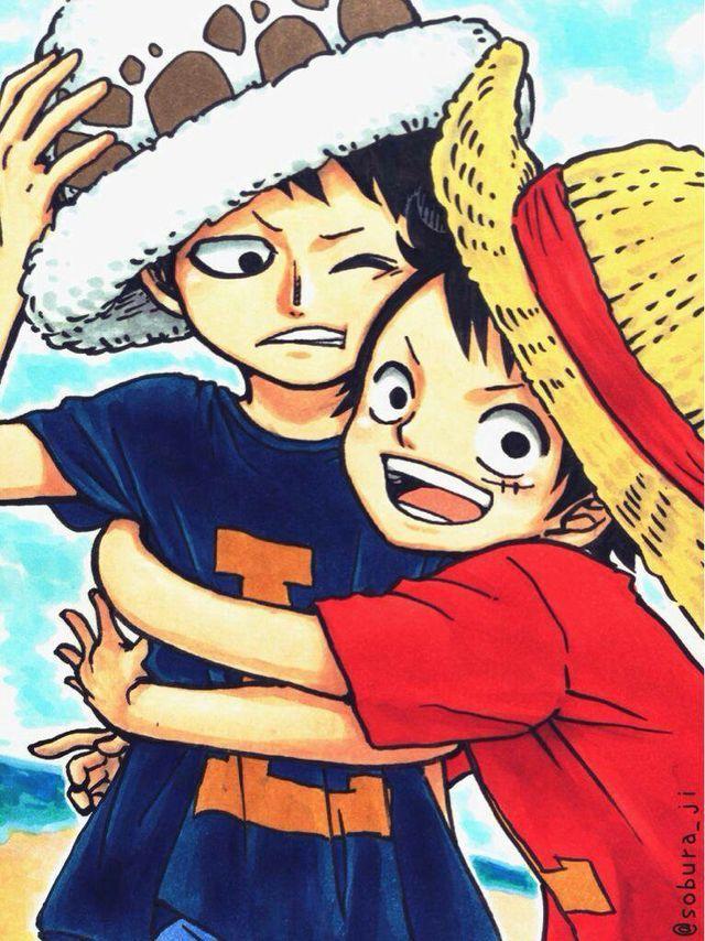 Doujinshi One Piece - Lawlu trong 2020 | Anime one piece ...
