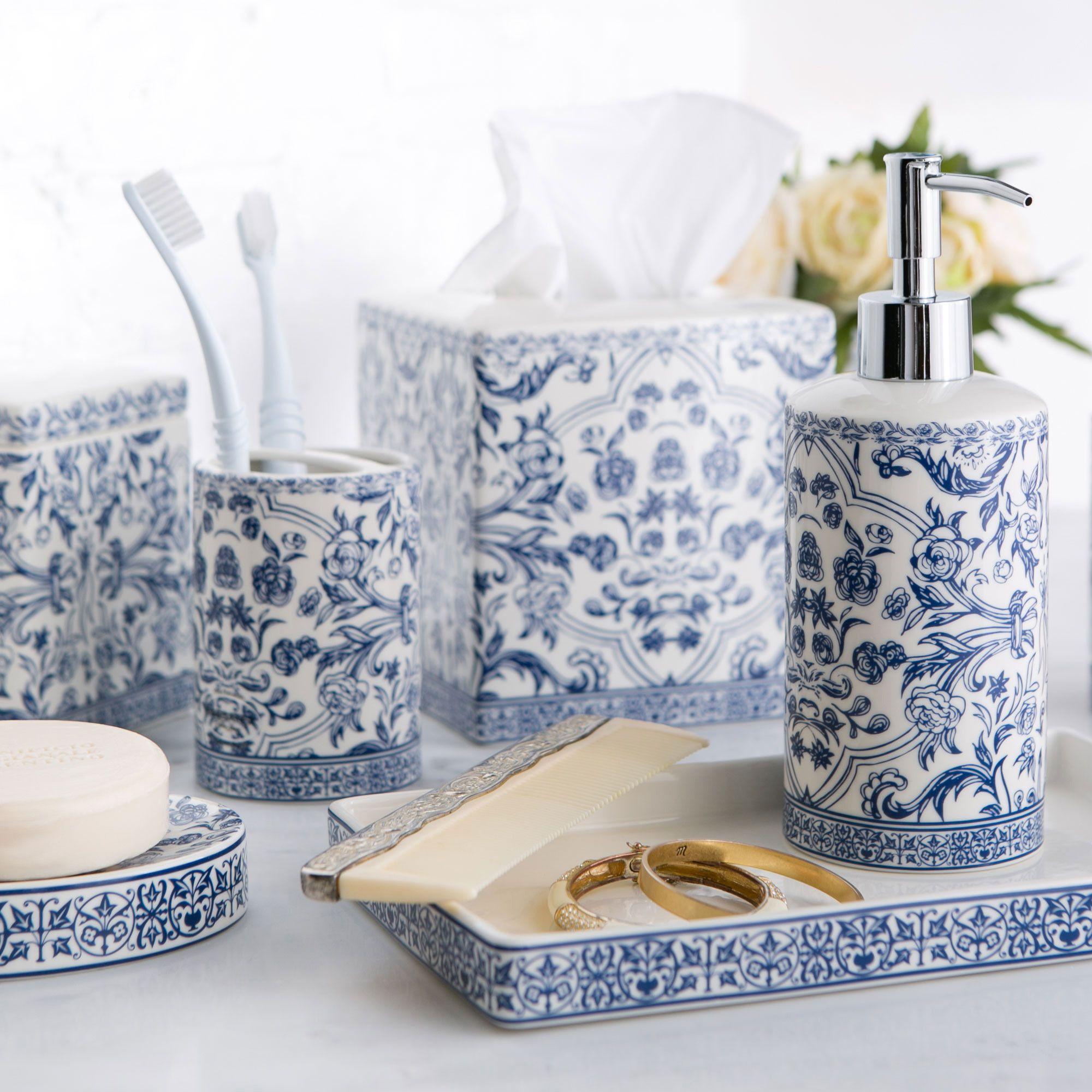 Birch Lane Porcelain Collection, Blue & White & Reviews | Wayfair ...