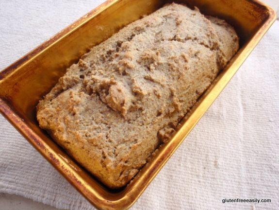 Gluten-Free, Grain-Free, Dairy-Free, Sugar-Free, Paleo Bread