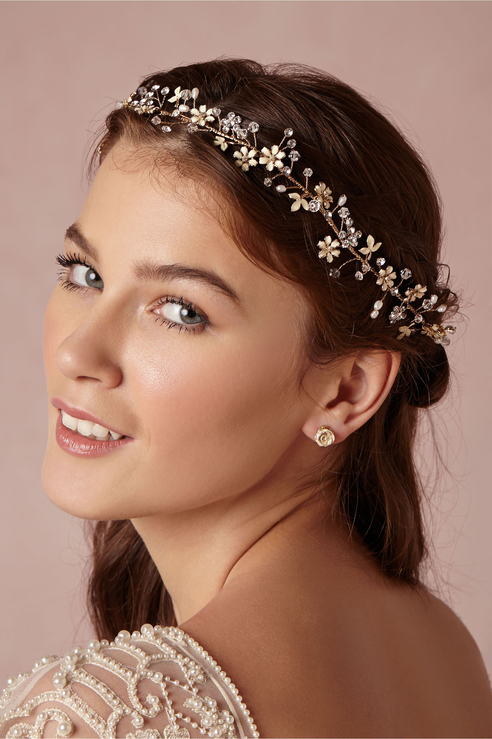 Buttercup Halo in Bride Veils & Headpieces at BHLDN