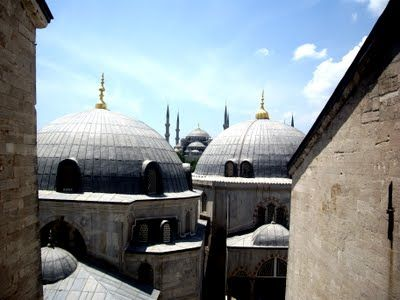 Awesome view from Aghia Sofia