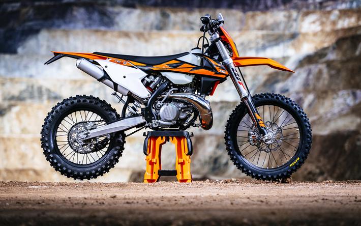 Download Wallpapers Ktm Exc Tpi 4k Motocross 2018 Bikes