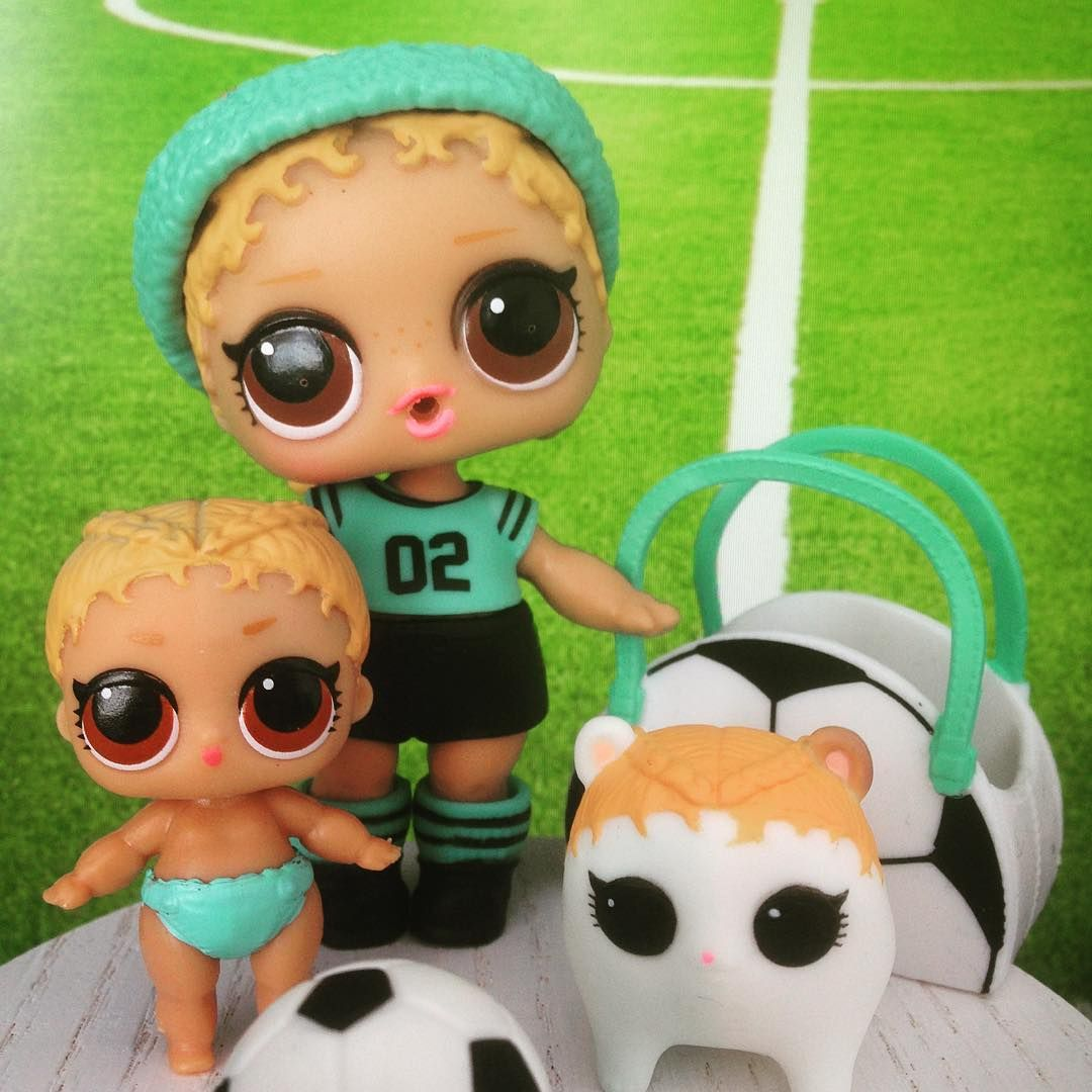 LOL Surprise LiL Sisters L.O.L ATHLETIC CLUB KICKS COLOR CHANGE doll GIFTS TOY