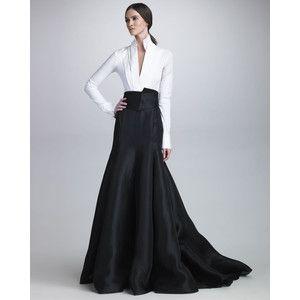 Long Taffeta Skirt - Dress Ala