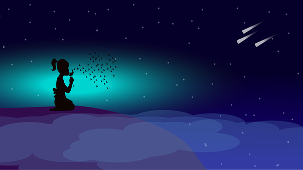 Free Image On Pixabay Shooting Star Clouds Stars Star Cloud Clouds Shooting Stars
