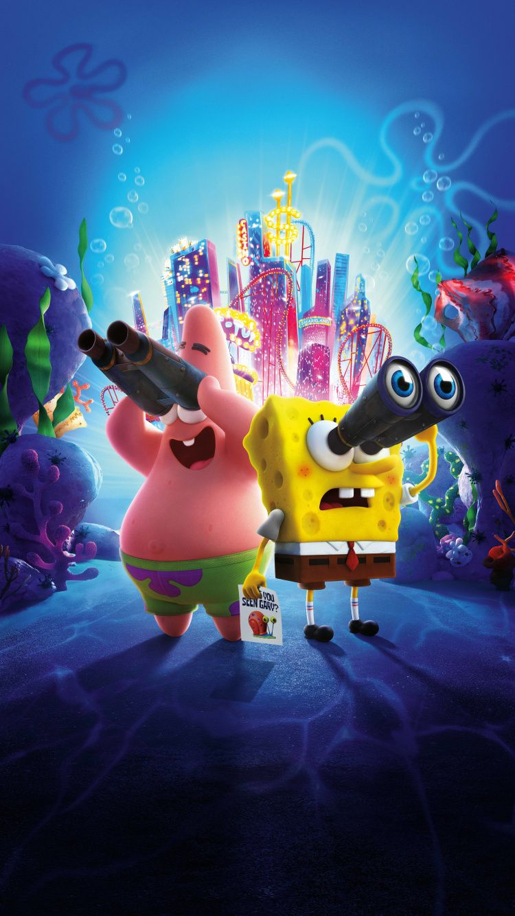 750x1334 The SpongeBob Movie Sponge on the Run, 2020