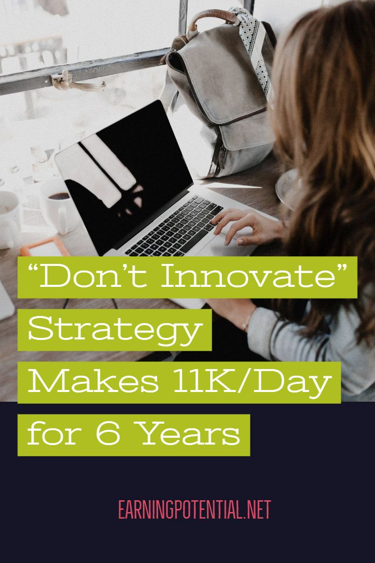 """""""Don't Innovate"""" -Strategie erreicht 6 Jahre lang 11.000 pro Tag   – Work From Home"""