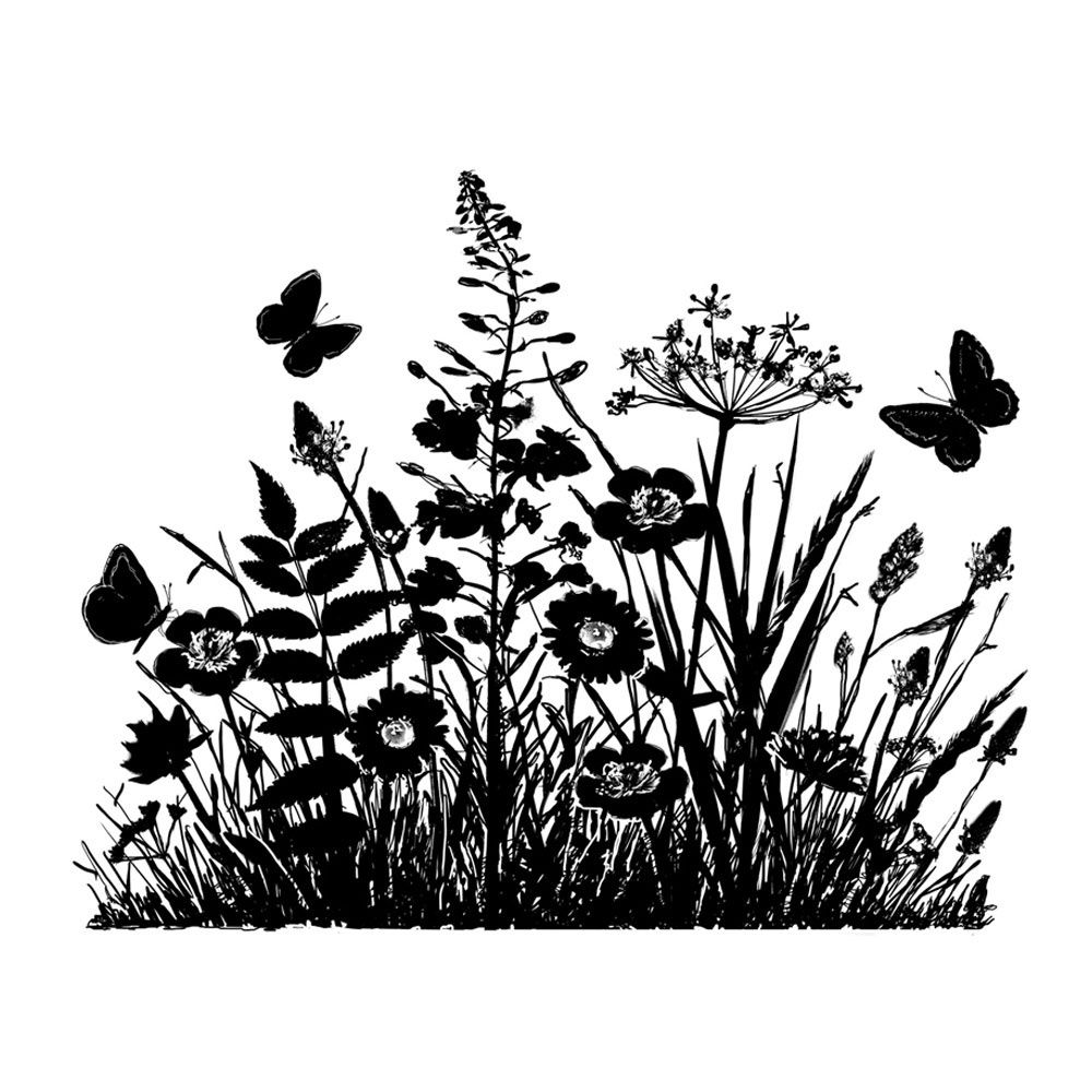 silhouette flowers - Google Search | silhouettes ...