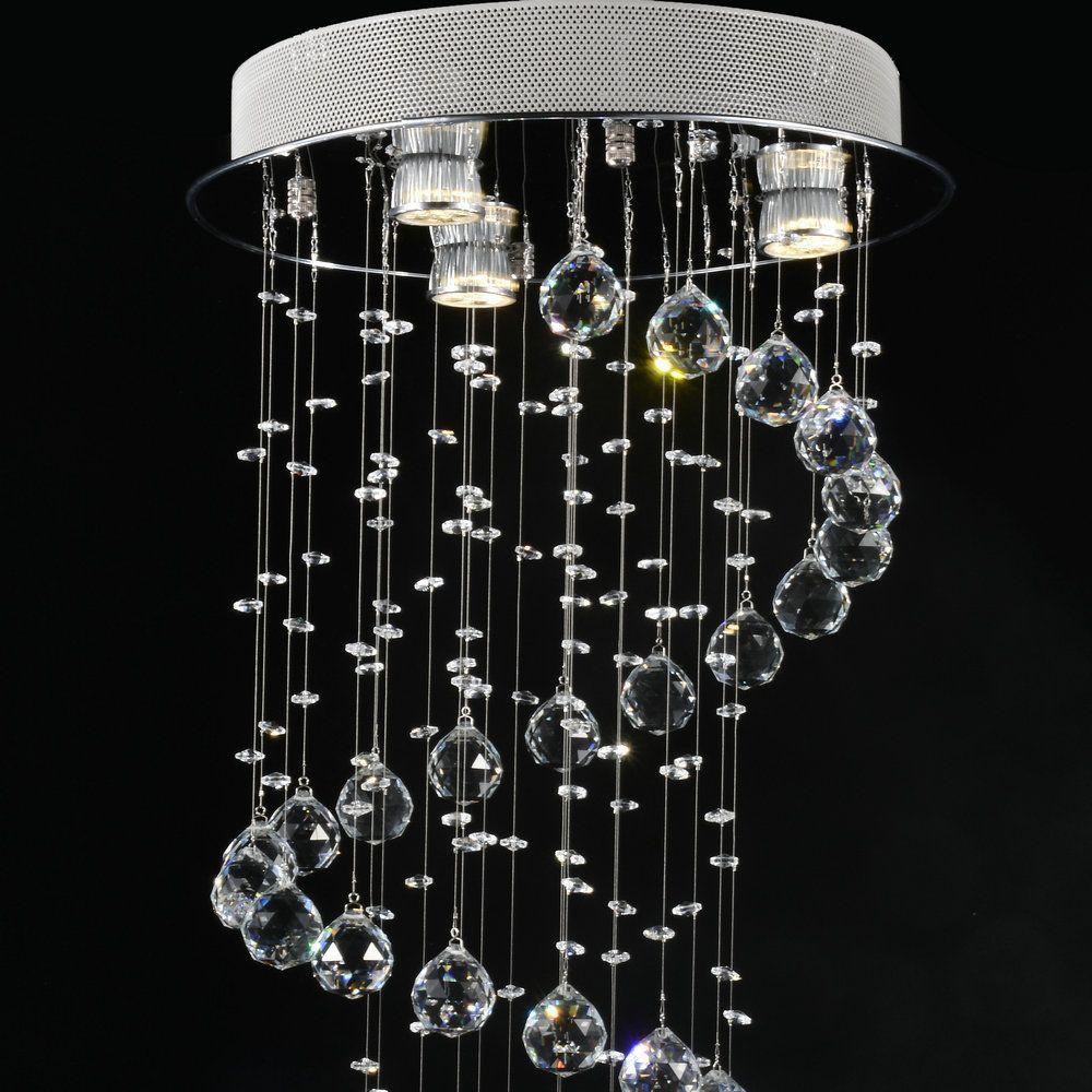Moderna l mpara de ara a cristal luz lustres para l mpara - Lamparas de techo de diseno modernas ...