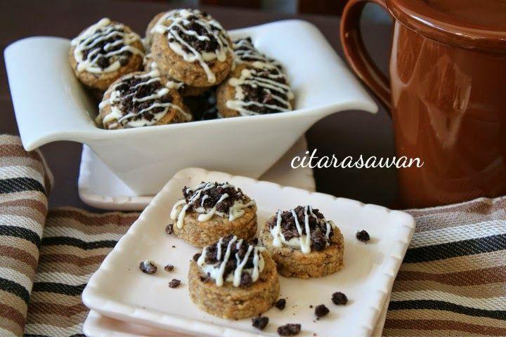 Recipes Today Biskut Crunchy Oreo Oreo Crunchy Cookies Memanggang Kue Kue Kering Mentega Resep Biskuit