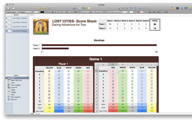 Lost Cities Scoring Template Lost city, Templates, City