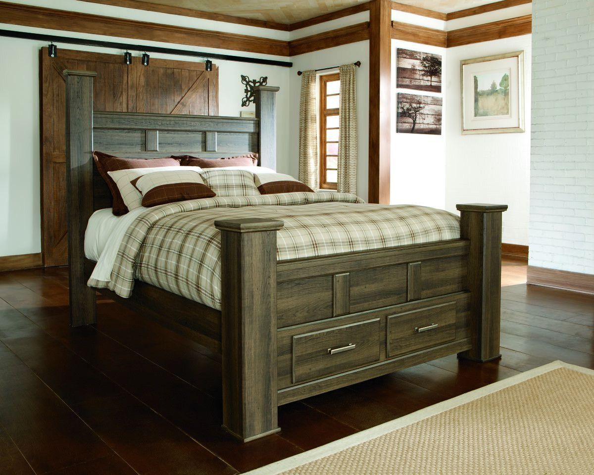 Get The Look Of Posh Barn Wood Without Setting Foot In A Salvage Captivating Barn Wood Bedroom Furniture Inspiration Design