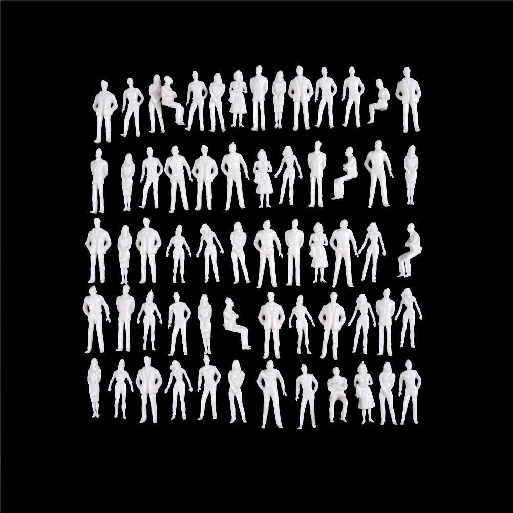 10pcs Lot Human Scale Model 1 50 Scale Model Miniature Abs Plastic Peoples White Figures Architectural Model Ye White Figures Scale Models Architecture People