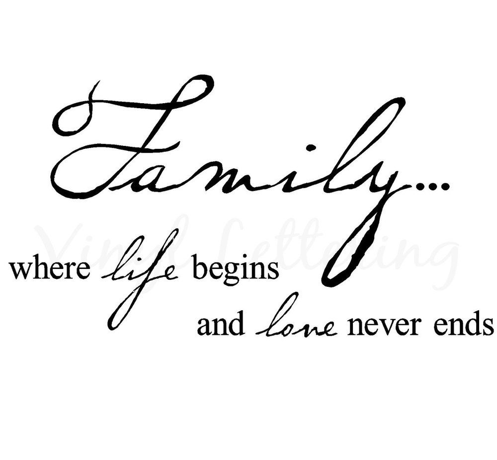 Family And Love Quotes Fontbfamilybfontwherelifebeginsandfontblovebfont