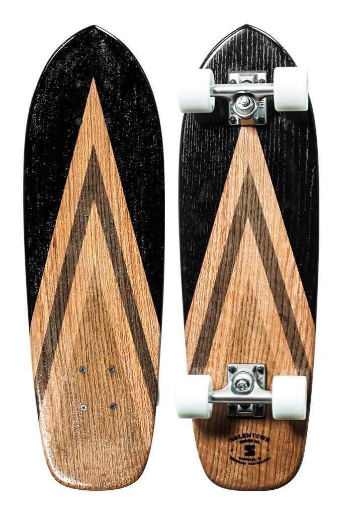 Special 1 Of 1 Handmade Oak Cruiser Salemtown Board Co Nashville Tn With Images Handmade Skateboard Skateboard Skateboard Design