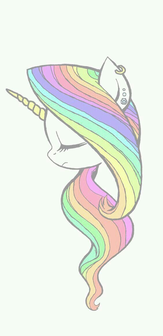 Omg it is so light and pretty Unicorn drawing, Unicorn