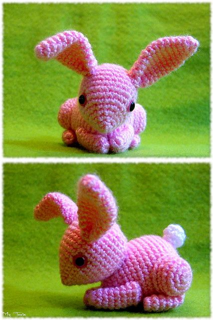 this is one of the cutest bunny-rabbits i have seen! no pattern...