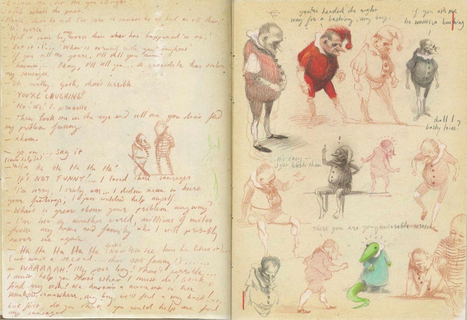 Alexis Deacon - sketchbook