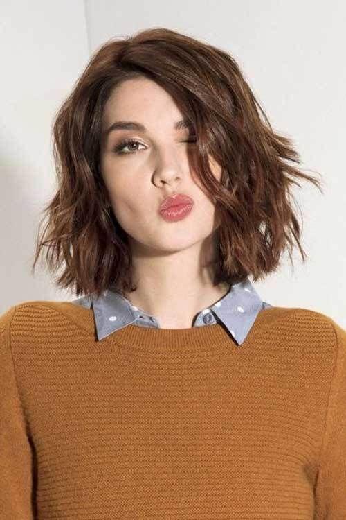 Los Mejores Peinados Cortos Para Mujeres Con Cabello Ondulado Look - Cabello-ondulado-corto
