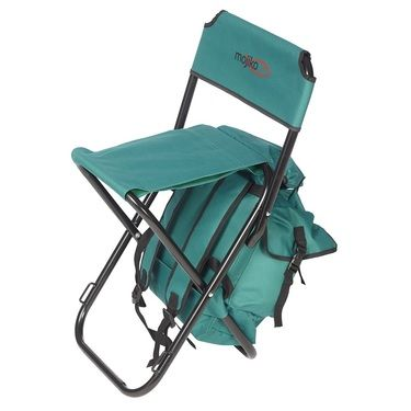 Mojiko Fishing Stool With Backpack Green Plein Air