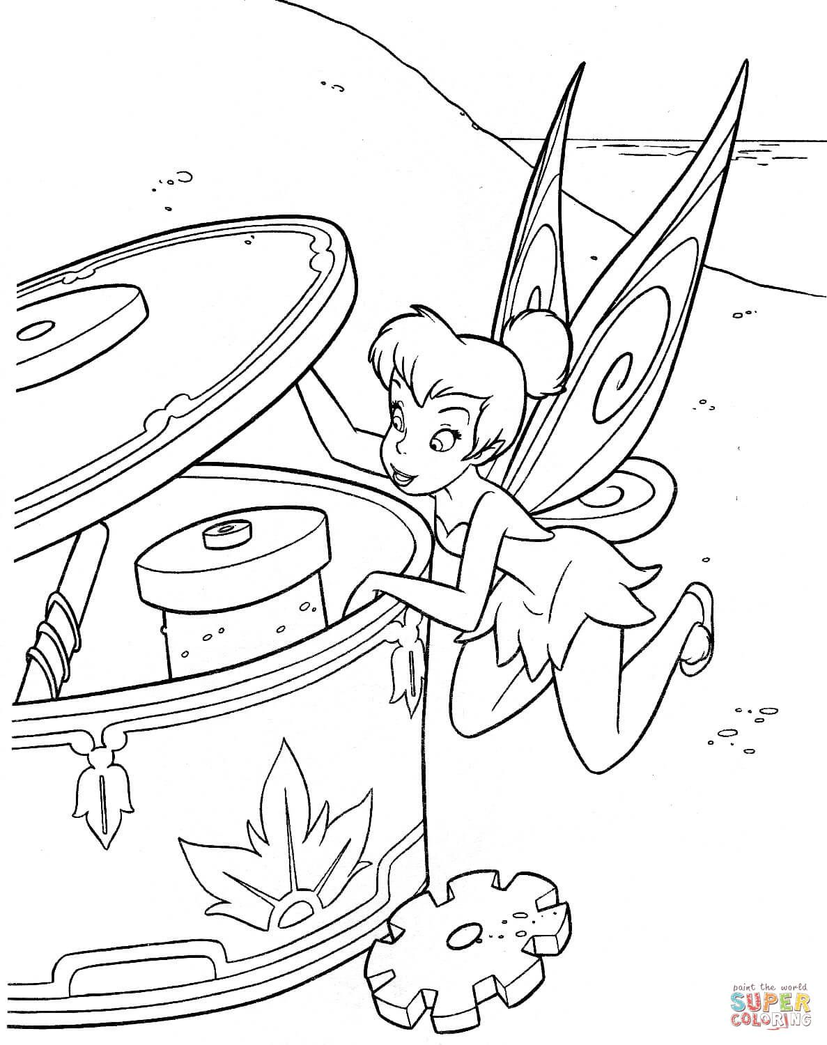Tinkerbell coloring pages googlesøgning barbie pinterest