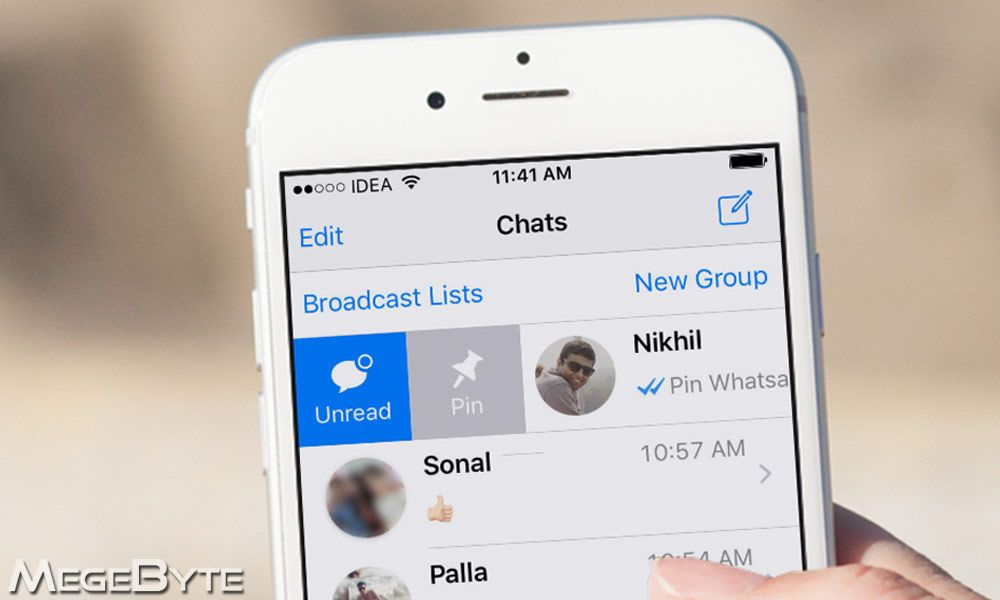 How to pin whatsapp chat on android and iphone iphone