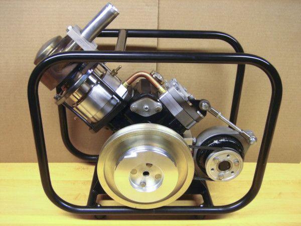 SV-2 MK II Stirling engine generator assembled 2