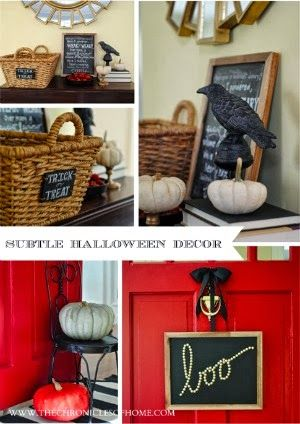 Easy Halloween Decoration - Boo Holidays, Easy halloween and - halloween decorations at home