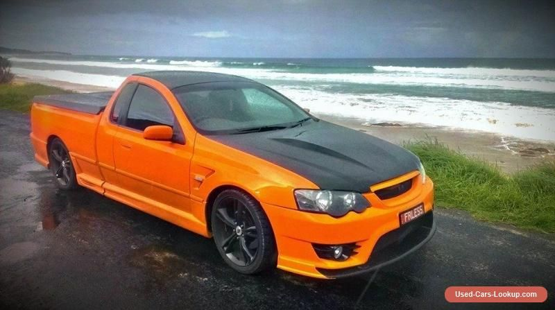 Cleaning My Ford Falcon Fg Xr6 Ford Falcon Luxury Rv Aussie