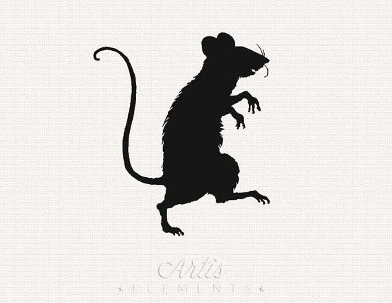 Sneaky Rat Or Mouse Silhouette Png Digital By Artiselements 2 50 Silhouette Png Mouse Silhouette Mouse Rat