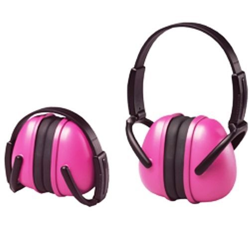 439ff3a5614 Pink Ear Muffs Hearing Protection Folding   Adjustable  Work Racing Hunting Shoot  ERB