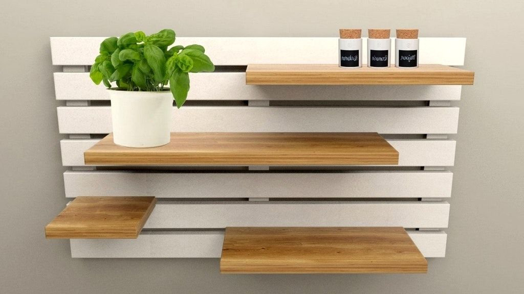 Genial Wandregal Küche Holz Und Beste Ideen Von Küchen 13