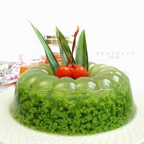 Resep Puding Lumut Oleh Genika Yulia Resep Resep Puding Resep Masakan