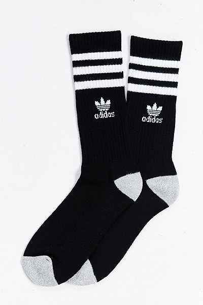 Adidas Originals Roller Crew Sock Crew Socks Mens Striped Socks Mens Socks