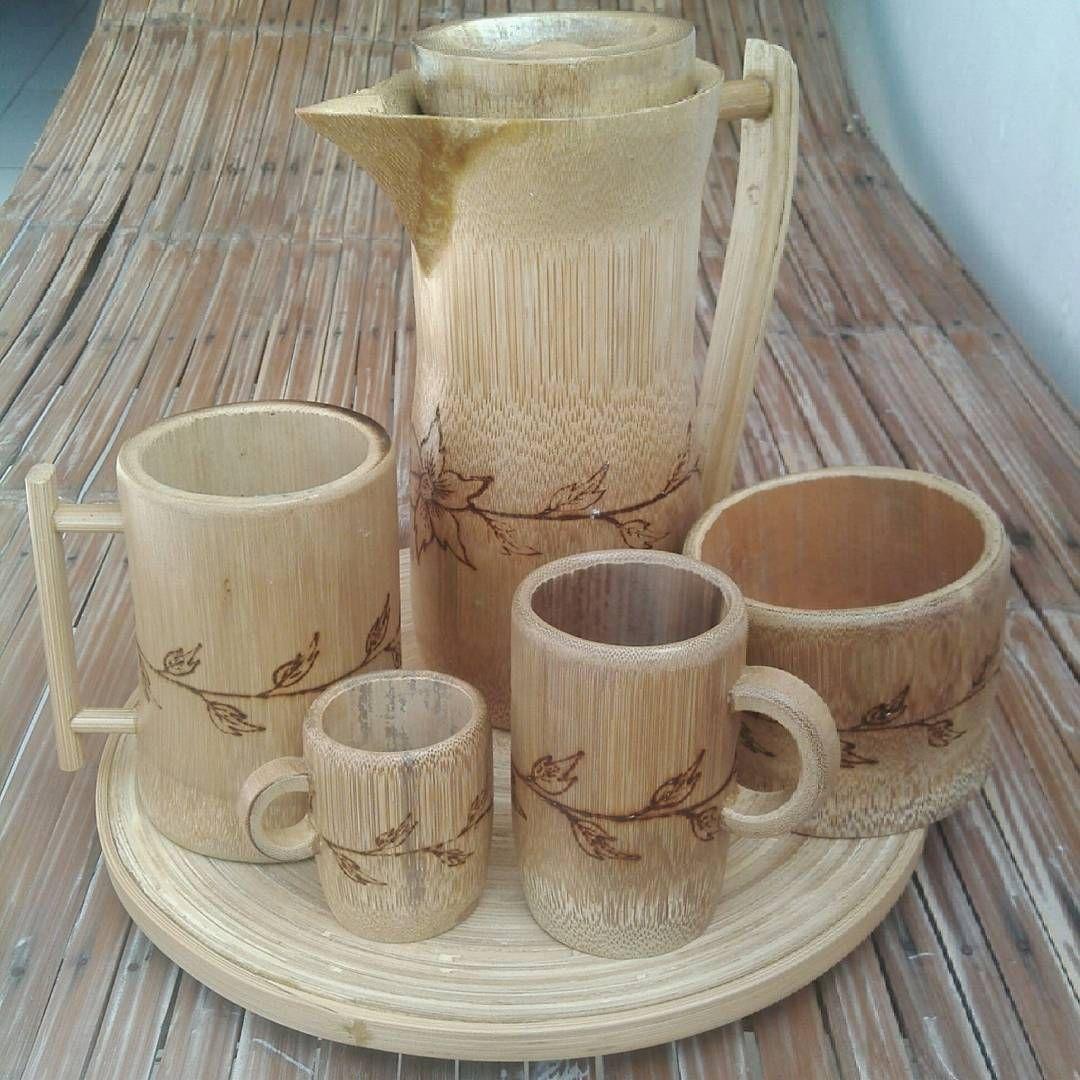 34 Ide Kerajinan Tangan Dari Bambu Terbaru 2020   Dekor ...
