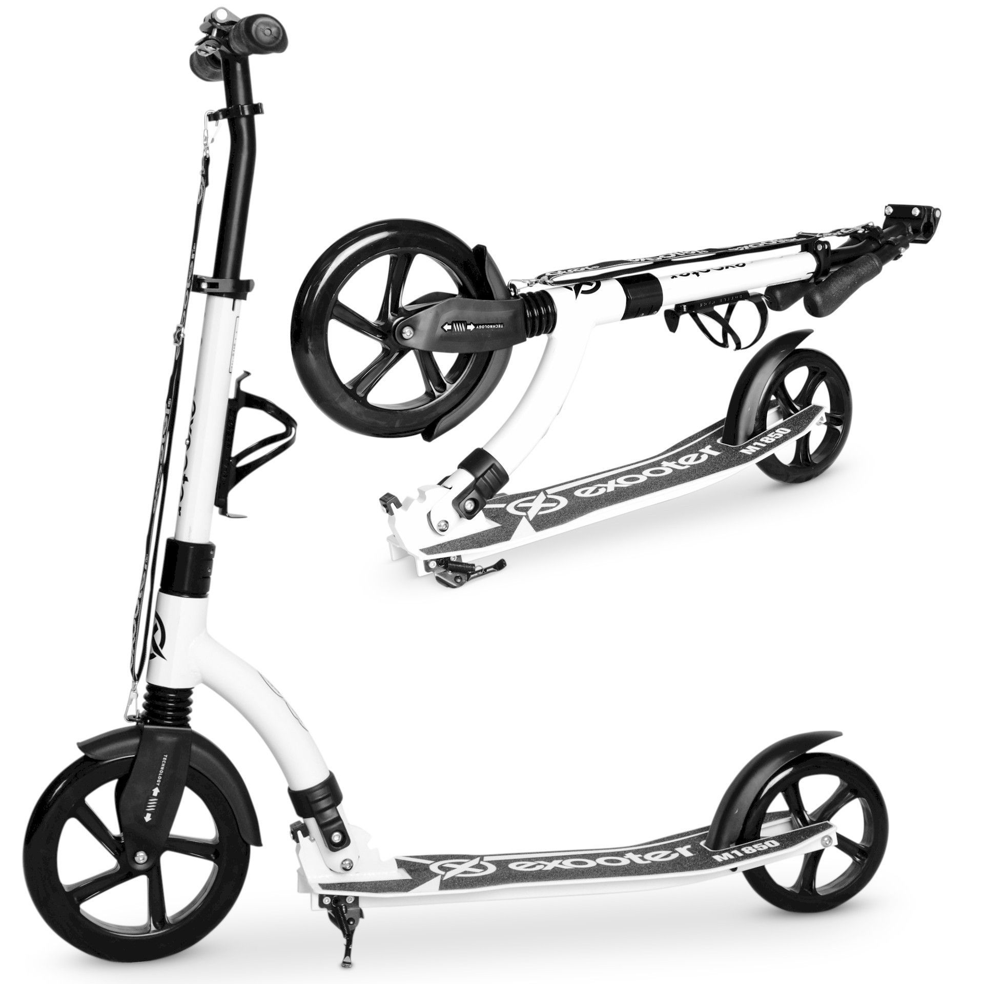 Diggler Cruiser Electric Stand Up Scooter with 600 Watt Hub