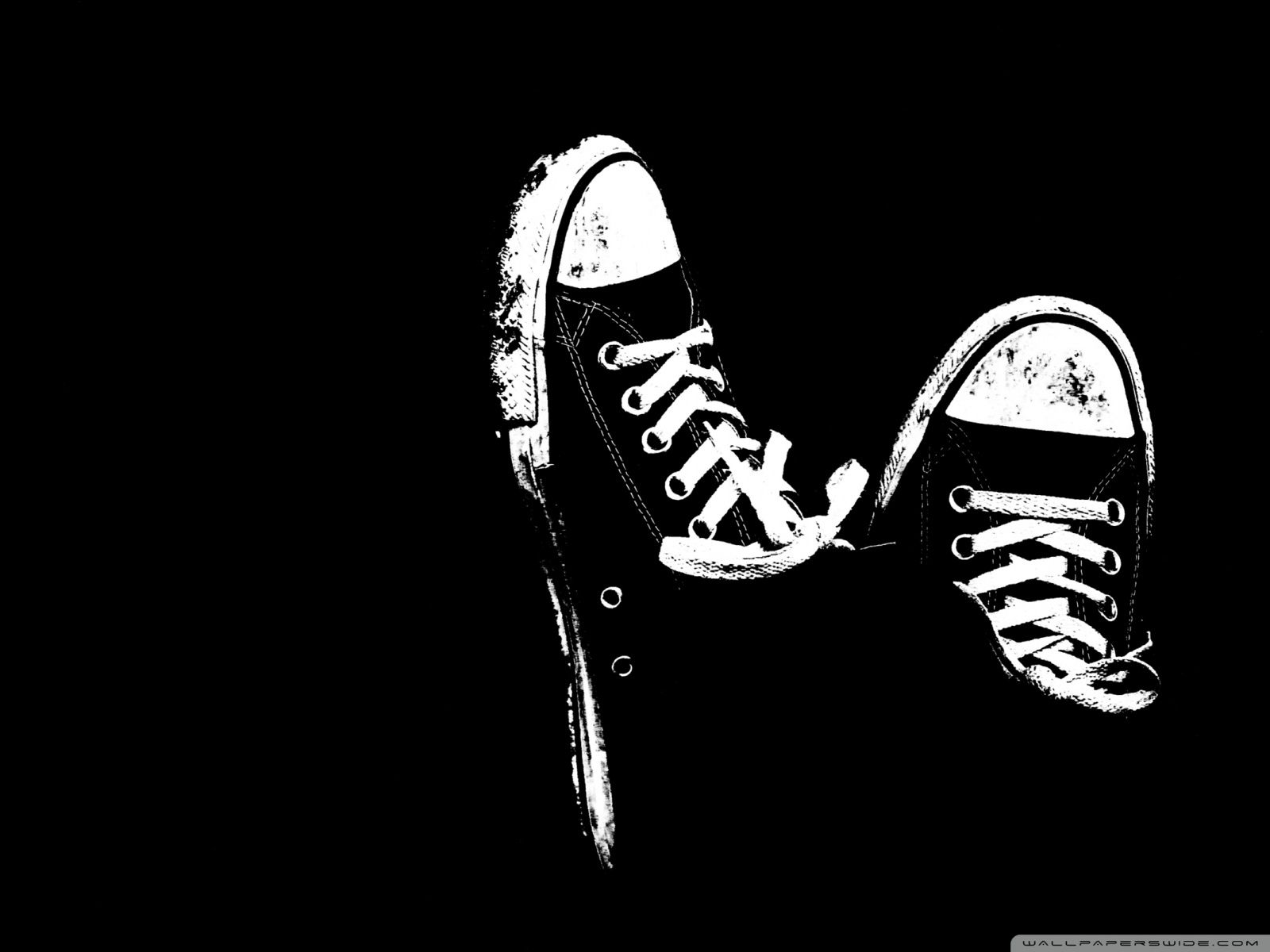 Sneakers Black And White Hd Desktop Wallpaper High Definition Fullscreen Mobile Black Hd Wallpaper Black And White Wallpaper Iphone Shoes Wallpaper