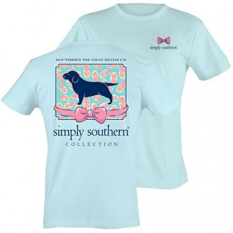 Simply Southern Puppy Tee #simplysouthern #puppylove #thepinkchalet #shoplocal #shopsmall