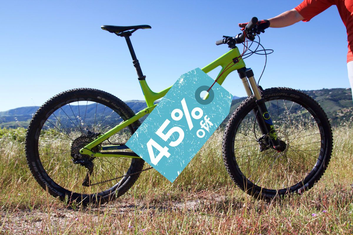 New Mountain Bikes Lose About 45 Of Their Value After Year One
