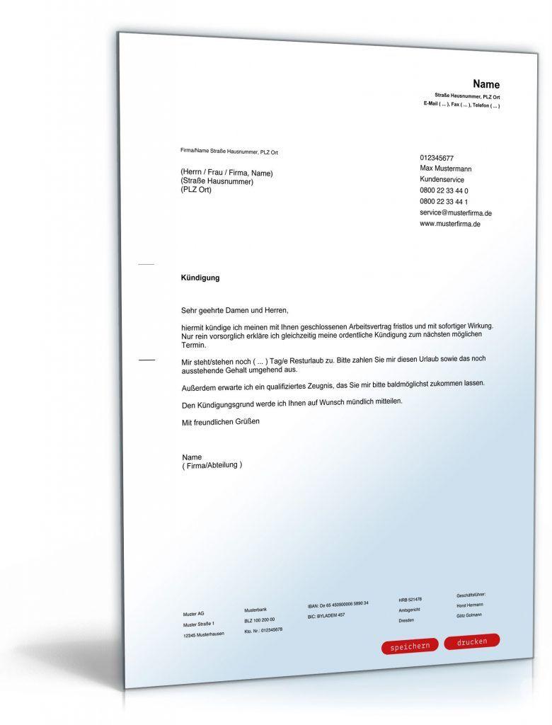 Arbeitnehmer Kundigung Vorlage Kundigung Vorlage Fwptc Com In 2020 Vorlagen Word Vorlagen Lebenslauf