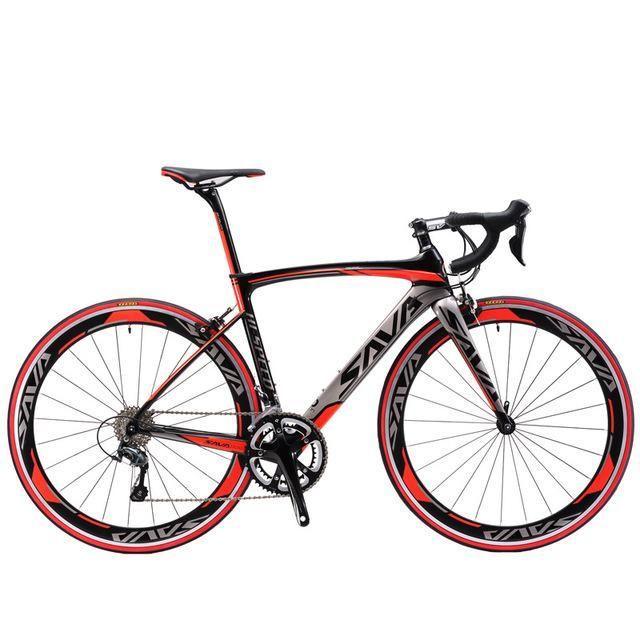 Sava 700c Road Bike Carbon Fiber Frame Fork Seatpost Cycling