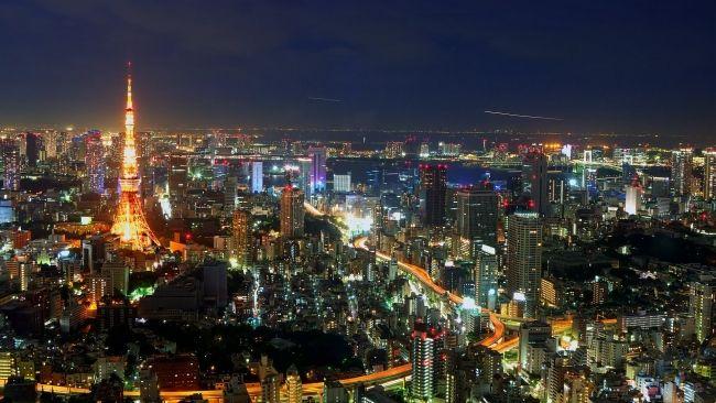 Full Hd Wallpaper Tokyo Night Landscape Top View Desktop Backgrounds Hd 1080p Tokyo Tower Tokyo Skyline Tokyo Night